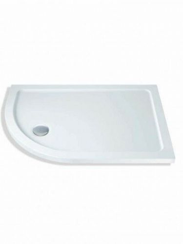 MX DUCASTONE 45 900X800 OFFSET QUADRANT SHOWER TRAY LEFT HAND INCLUDING WASTE